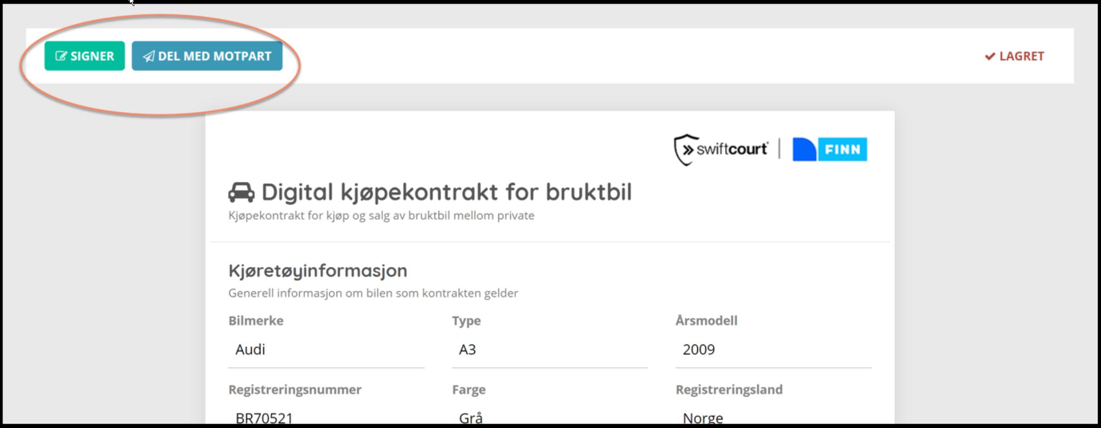 7290cf44 Opprett digital kjøpekontrakt på FINN – FINN.no hjelpesenter